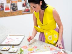 Meet the founder of Sweet Saba, who's taking candy to elegant (and edible) new heights.