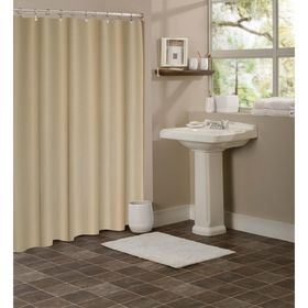 Dainty Home W Hotel Collection 72 In Waffle Weave Fabric Shower