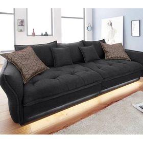 Inosign Big Sofa Palladio Schwarz 295cm Fsc Zertifikat Energieeffizienzklasse A Mit Bildern Grosse Sofas Sofa Wohnen