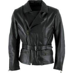 Jacken Evergreen: schwarze Lederjacken im Biker Style