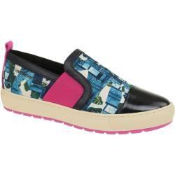 Geox Breeda Designer Schuhe Slipper blau print Geox in 2020 8q4AP