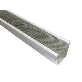 Spectra Metals 5 In X 4 Ft Armour Screen Lock On Gutter Guard 25 Pro Pack Silver In 2020 Gutter Aluminum Screen Gutter Guard