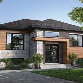 House Plan 6146 00382 Modern Plan 1 022 Square Feet 2 Bedrooms 1 Bathroom House Plans Guest House Plans House Plan Gallery
