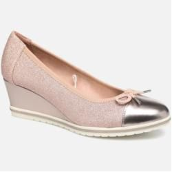 Tamaris Damen Moka Pumps Rosa Tamaristamaris Damen