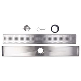 Thunderbird Products Inc 36 In Stainless Steel Linear Shower