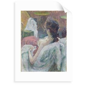 Wandbild The Model Resting Von Henri De Toulouse Lautrec Marlow