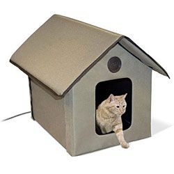 Outdoor Heated Cat House Heated Cat House Outdoor Cat House Cat Bed