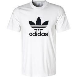 adidas Originals T Shirts Herren, Baumwolle, weiß adidas in
