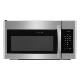 Frigidaire 30 In 1 6 Cu Ft Over The Range Microwave In Stainless Steel Silver Microwave Stainless Steel Kitchen Appliances Stainless Steel Refrigerator