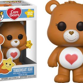 FUNKO POP ANIMATION CARE BEARS TENDERHEART BEAR #352 NEW VINYL FIGURE