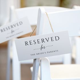 Printable Reserved Sign Tent Romantic Calligraphy Large Editable Color Templett Reserved Signs Reserved Wedding Signs Reserved Table Signs