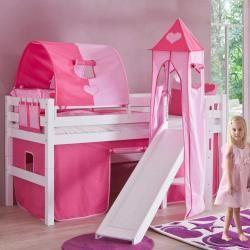 Wie Anker Prinzessin Hochbett In Der Wand Etagenbett Mit Treppe