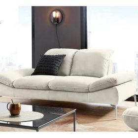 2 5 Sitzer Sofa Mit Sitztiefenverstellung Fusse Chrom Glanzend Brei In 2020 Mit Bildern Sitzen Haus Deko Sofa