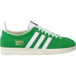 Adidas Sneaker Low Gazelle Vintage W Grun Damen Adidas In 2020 Turnschuhe Adidas Sneaker Und Leder