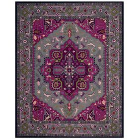 Safavieh Bellagio Elche Gray Pink Indoor Oriental Area Rug Common 10 X 14 Actual 10 Ft W X 14 Ft L Square Area Rugs Grey Area Rug Oriental Area Rugs