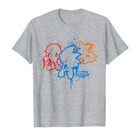 Sonic /& Friends Spray Paint T-Shirt