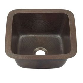 Sinkology 12 L X 12 W Undermount Bar Prep Sink In 2020 Prep Sink Sink Copper Bar