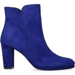 Blaue Stiefeletten Mit Absatz 36 37 38 39 40 41 42 Manfieldmanfield Blaue Stiefeletten Blau Und Leder