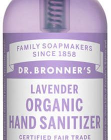Dr Bronner S Dr Bronner Lavender Organic Hand Sanitizer Hand