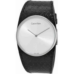 Calvin Klein K5v231c6 Schwarz Calvin Klein In 2020 Damenuhren Calvin Klein Uhr Leder