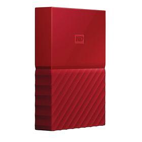 Wd My Passport 4tb Portable External Hard Drive Red Portable External Hard Drive