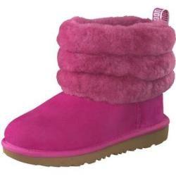 Ugg Fluff Mini Quilted Boots Madchen Pink Ugg Australia In 2020 Uggs Winterstiefel Und Leder