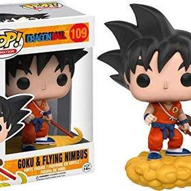 Funko Pop Animation Dragonball Orange Suit Goku And Flying Nimbus Exclusive Vinyl Figure Floresta Encantada Festa Figuras Floresta Encantada