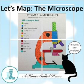 Let S Map A Microscope Biology Lessons Teaching Biology Biology Classroom