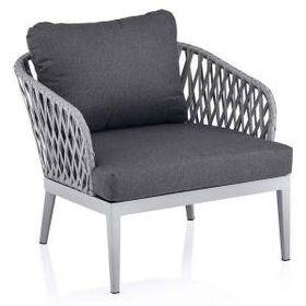 Kettler Sunny Loungesessel Aluminium Rope Olefin Silber Anthrazit Garten Und Freizeit In 2021 Lounge Sessel Mobel Lounge Mobel