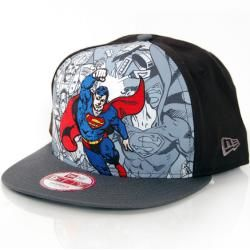 Superman Ironman Adjustable Trucke Cap von New Era Baseball Cap Comic Cap