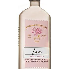 Rose Vanilla Body Wash And Foam Bath Aromatherapy In 2020 Oil Body Wash Vanilla Body Wash Bath And Body Works