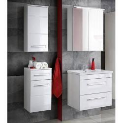 Badezimmer Mobel Set 60 80 Cm Mit Keramik Waschtisch 4tlg Visby