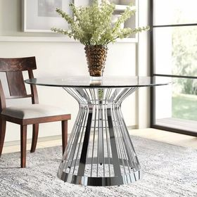Lexington Ariana Riviera Glass Top Dining Table Size 30 H X 72