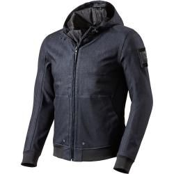 , Stilvolle blau Motorradjacke textilien Motorrad Jacke Cordura Motorcycle Jacket