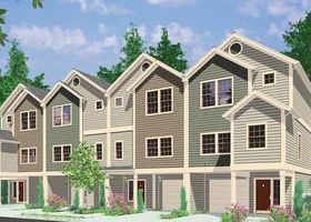 Plan 8184lb Four Plex Great For Combining In 2021 Family House Plans House Construction Plan Architectural Design House Plans