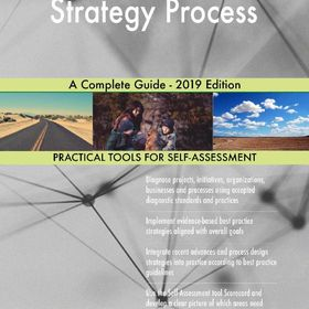 Strategy Process A Complete Guide 2019 Edition Ebook Risk