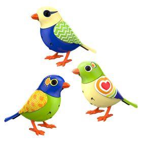 Digibird 3 Pack Bundle Bird Toys Animals For Kids Little Live Pets