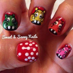 Sweet & Savvy Nails - Hand-painted Nail Art Designs