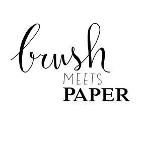 Brushmeetspaper