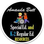 Amanda Butt's Special Needs Classroom