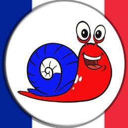 Learn French with escargot