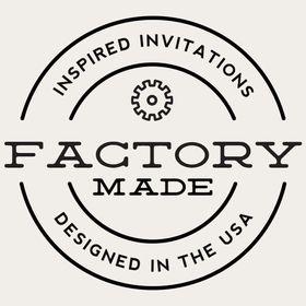 Factory Made Wedding Invitations