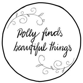 Polly finds beautiful things