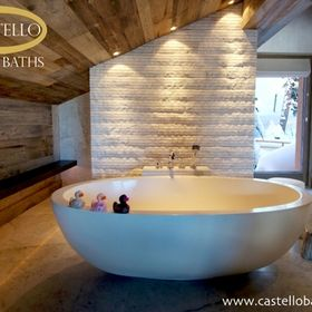 Castello Baths.  Designer Laurie Clayden
