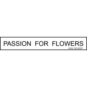 Passion for Flowers