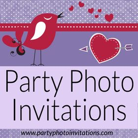 Party Photo Invitations