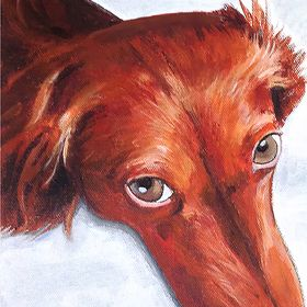 Fred's Dog Portrait Paintings