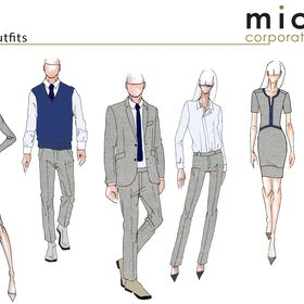 michel corporate fashion