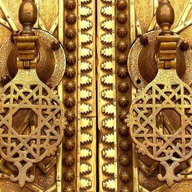 21/'/' Nautical Antique Brass Astrolabe Arabic Globe Navigation Astrological Decor