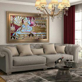 Aarti tanjore gold art